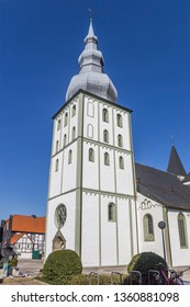 Marien church at the market square in Lippstadt, Germany