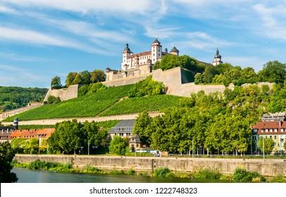The Marienberg Fortress in Wurzburg - Bavaria, Germany