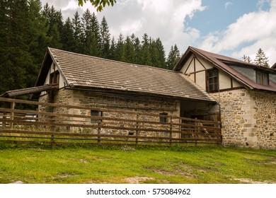 Marienkapelle, The Church Close to Lake Braies, Pragser Wildsee, Bolzano, Trentino Alto Adige, Italy
