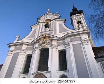 Marienmuenster Church, Diessen, Ammersee, Bavaria, Germany