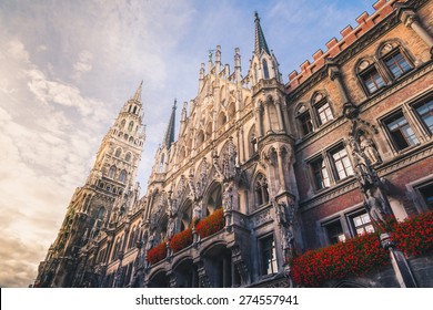 Marienplatz in Munich Germany