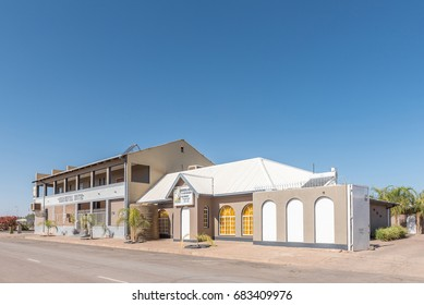 MARIENTAL, NAMIBIA - JUNE 14, 2017: An hotel in Mariental, the capital town of the Hardap Region in Namibia