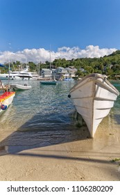 Marigot bay - Caribbean sea - Saint Lucia tropical island