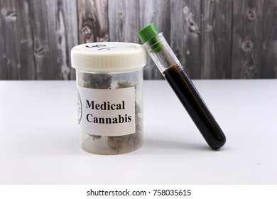 Marihuana oil for pains and diseases