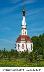 Mariinsk, Orthodox chapel of the great Martyr Anastasia Uzoreshitelnitsa, Kemerovo region