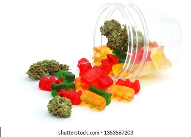 Marijuana Gummy Bears. Marijuana or Cannabis infused gummy candies. THC infused Gummies. CBD Infused Jellies.