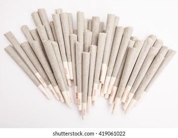 Marijuana Joints - Ready to Smoke