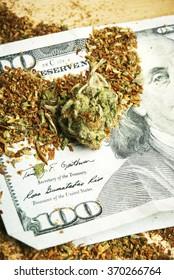 Marijuana and Money, Hundred Dollar Bill