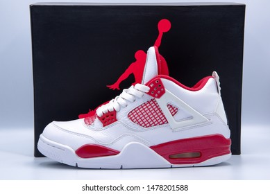 Marikina, Manila/Philippines August 14 2019 : Jordan 4 Alternate 89