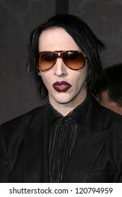 "Marilyn Manson at the World Premiere of ""The Nightmare Before Christmas"". El Capitan Theater, Hollywood, CA. 10-16-06"