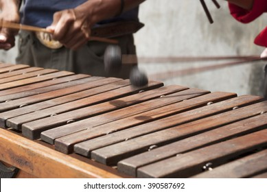 Marimba. Guatemala