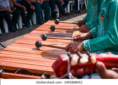 Marimba rhythms from the wooden piano of Masaya, Nicaragua