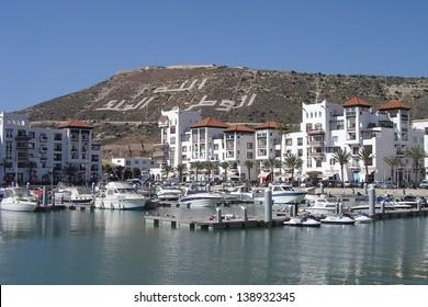 Marina of Agadir - Morocco