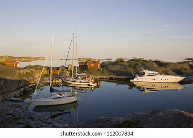 Marina in the archipelago