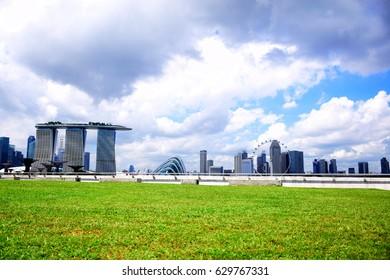 Marina barrage at Singapore