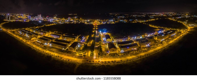 Marina Bay Miri View at Night