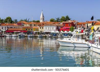 Marina at the bay - Novigrad, Croatia