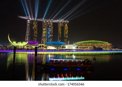 Marina Bay Sands Resort Hotel in Singapore.