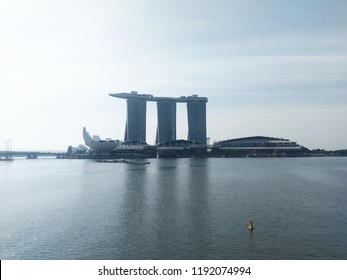 Marina Bay, Singapore – September 13, 2018: Marina Bay Sands.