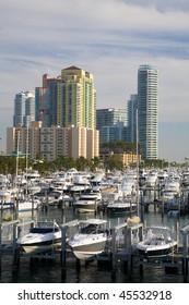Marina At Biscayne Bay, South Beach, Miami, Florida