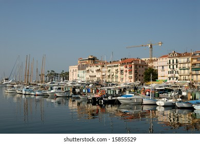 Marina in Cannes, southern France