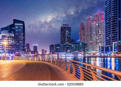Marina Dubai by Night