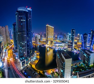 Marina Dubai Extreme Panorama