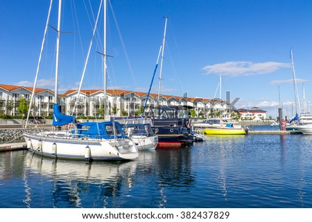 marina and fishing port, Boltenhagen