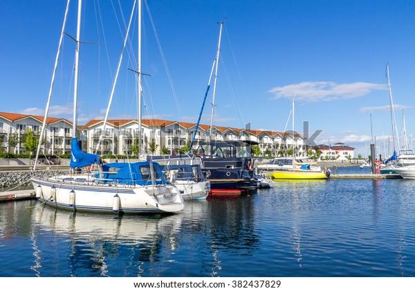 marina and fishing port, Boltenhagen