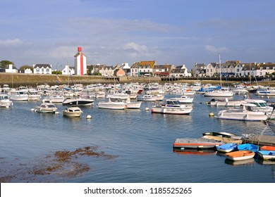 Marina at Guilvinec or Le Guilvinec, a commune in the Finistère department of Brittany in north-western France