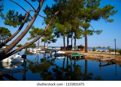 marina lac de biscarosse landes