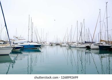 The Marina of Menton, France