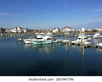 A marina in Ocean City Maryland