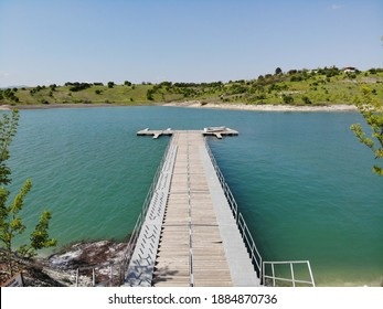 Marina on the Dam Lake in Elazig