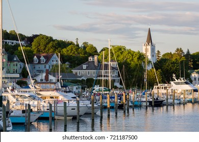Marina on Mackinac Island