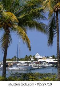 Marina in Port Douglas, North Queensland, Australia
