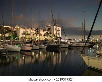 Marina. Pto. Mogán, Canary Island