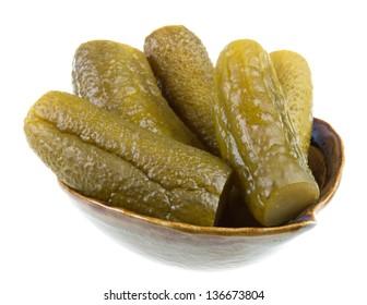 Marinaded cucumber