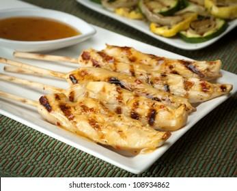 Marinated Chicken Kabob