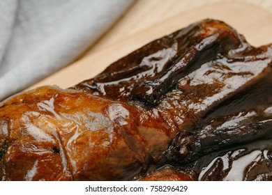 the marinated duck