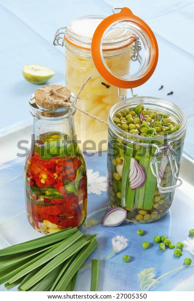 marinated fruit and vegetables