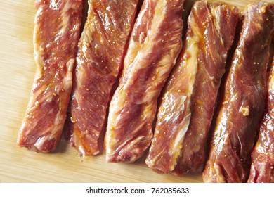 Marinated Korean beef