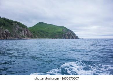 marine background (in the Moryak-Rybolov)