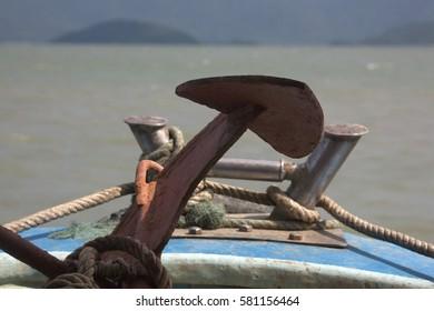 Marine boats. Vietnam