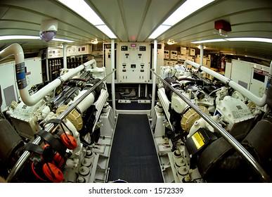 Marine Engine Room