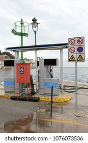 Marine Fuel Station For Yachts and Boats