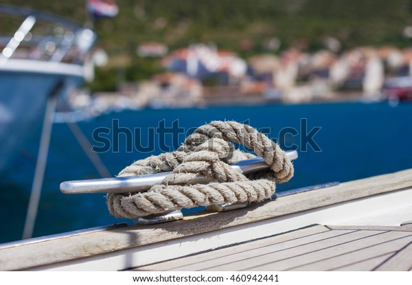 Marine Knot Detail On Stainless Steel Stock Image Download Now