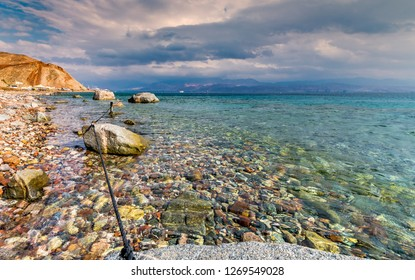Marine Nature Reserve and Coral Reefs in Eilat - famous tourist resort and recreational city in Israel