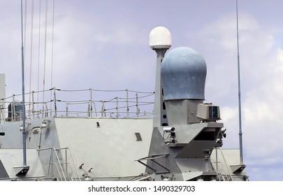 Radio Antenna On a Ship Images, Stock Photos & Vectors