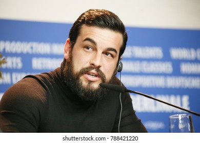 Mario Casas attends the 'The Bar' (El Bar) press conference during the 67th Berlinale Film Festival Berlin at Grand Hyatt Hotel on February 15, 2017 in Berlin, Germany.